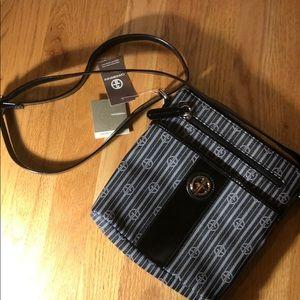 Giani Bernini Stripe Crossbody Bag!!